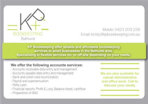 KP Bookkeeping - Accountants Perth